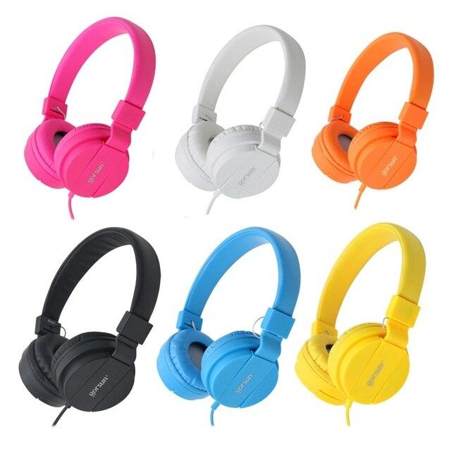 DEEP BASS Headphones Foldable Portable Adjustable Fone De Ouvido Headset Earphone For Xiaomi Huawei iPhone Smartphone Table PC