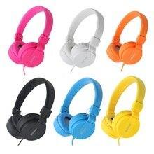 עמוק בס אוזניות מתקפל נייד מתכוונן Fone דה Ouvido אוזניות אוזניות לxiaomi Huawei iPhone Smartphone שולחן מחשב