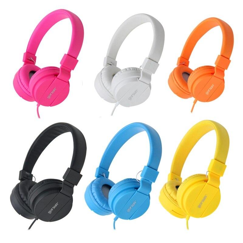 TIEFE BASS Kopfhörer Kopfhörer 3,5mm AUX Faltbare Tragbare Verstellbare Gaming Headset Für Handys MP3 MP4 Computer PC Musik Geschenk