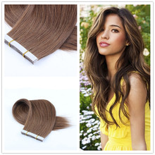 100% Brazilian Virgin Tape Hair Extensions Strong Tape In Human Hair Extensions 20pcs/lot For Fashions Women Hair Extensions