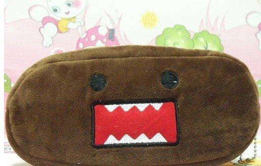 30PCS Japan DOMO KUN Plush Pen Pencil BAG Pouch Case Packs Pendant Cosmetics & Beauty Pouch Bag Case Coin Purse Case