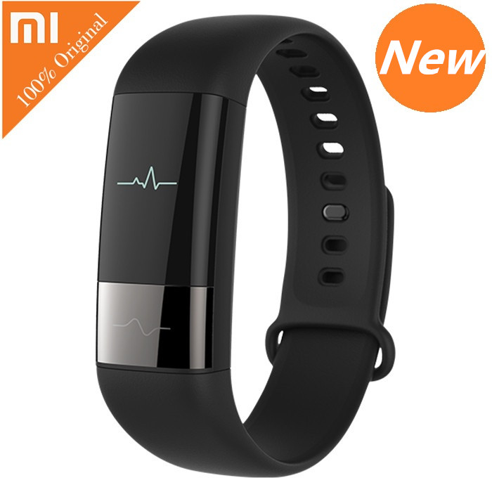 New Original Xiaomi AMAZFIT Smartband Bluetooth OLED Touch Screen Smart Wristband Fitness Tracker Heart Rate Monitor For Phone bluetooth smart watch waterproof heart rate monitor fitness tracker oled touch screen watches smart pedometer wristwatch