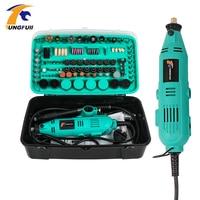 Tungfull Mini Drill Dremel Style Drilling Machine Dremel Drills Rotary Tools Power Tool Accessories Grinder Electric Hand Drill