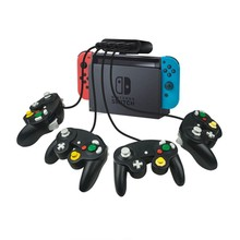 2 в 1 контроллер GameCube адаптер конвертер для Wii U PC для WiiU для rend переключатель для NS