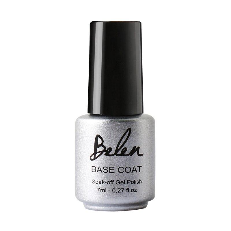Base Coat Nail Polish: Belen 7ml Base Coating For UV Nail Polish Base Coat Nail