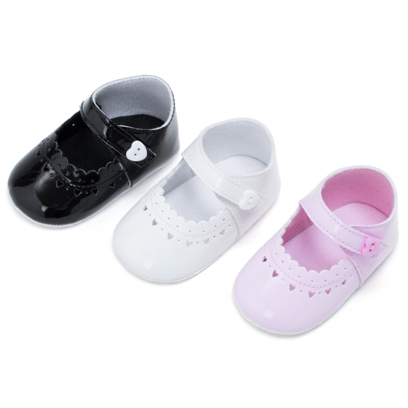 2017 Fashion Baby Shoes Pu leather Baby Moccasins Shoes Baby Girl Ballet Princess Shoes Soft Sole First Walker