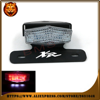 Motorcycle Tail Tidy Fender Eliminator Registration License Plate Holder LED Light For HONDA XR 250R 400R