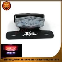Motorcycle Tail Tidy Fender Eliminator Registration License Plate Holder LED Light For HONDA XR 250R 400R