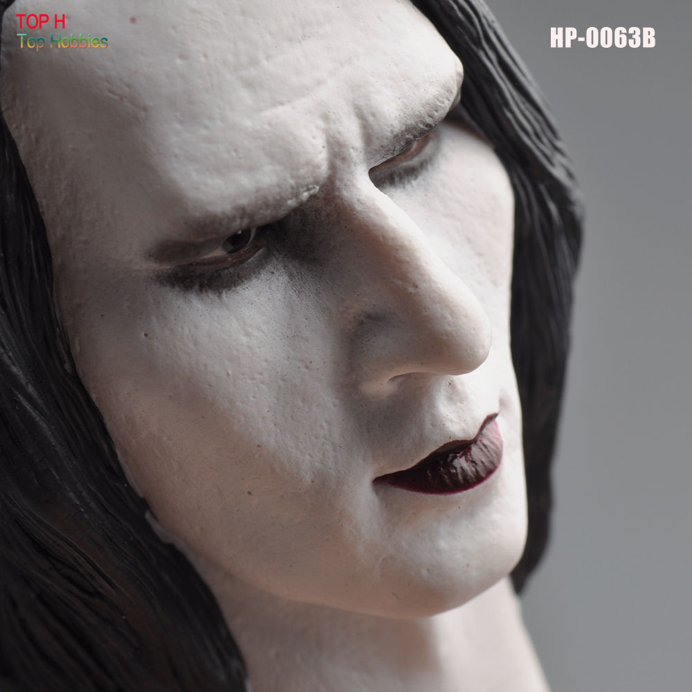 Head 1/6 Male Head Sculpt HP-0063B Marilyn Manson Male Head Carving Model Fit 12
