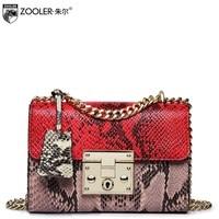 ZOOLER Genuine Leather Bag Bags Handbags Women Famous Brand Messenger Bag For Lady Cross Body VIP