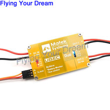 Matek U4A2P Daya Modul Dual-way 4A UBEC 5 ~ 12 V 4A 5 V Build-in Baterai Monitor Kontrol Aux Untuk RC Quadcopter RC Multicopter(China)