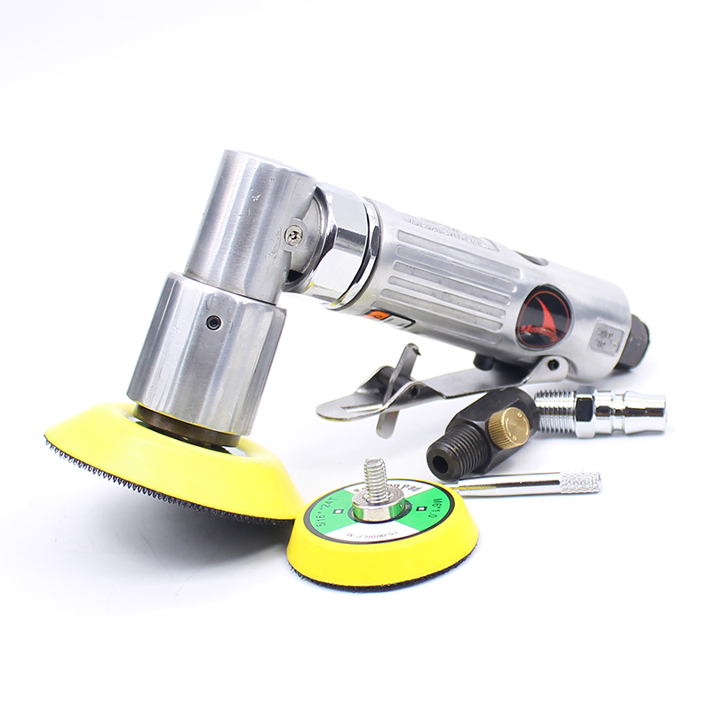 2 & 3 Inches Pneumatic Air Polisher Sander Eccentric Polishing Machine Pneumatic Polisher Tool