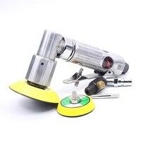 2 & 3 polegadas pneumática polidor de ar lixadeira excêntrico polimento máquina pneumática polidor ferramenta