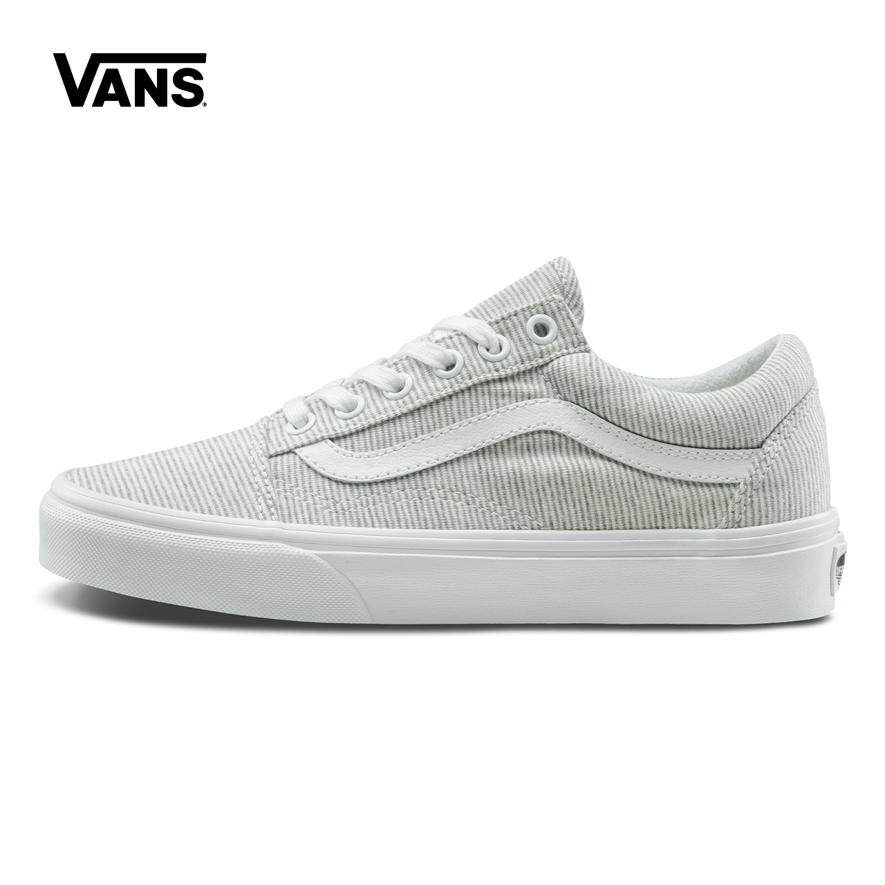 Original New Arrival Vans Womens Classic Old Skool Low-top Skateboarding Shoes Sneakers Canvas Sport Outdoor Grey VN0A38G1I1F original new arrival van classic unisex skateboarding shoes old skool sport outdoor canvas comfortable sneakers vn000d3hw00