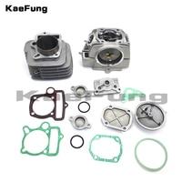 MYing Xiang YX 140 двигатель 56 мм цилиндр комплект прокладок Fit YX 140cc 56 мм Pitston ССР YCF IMR грязь велосипед ямы