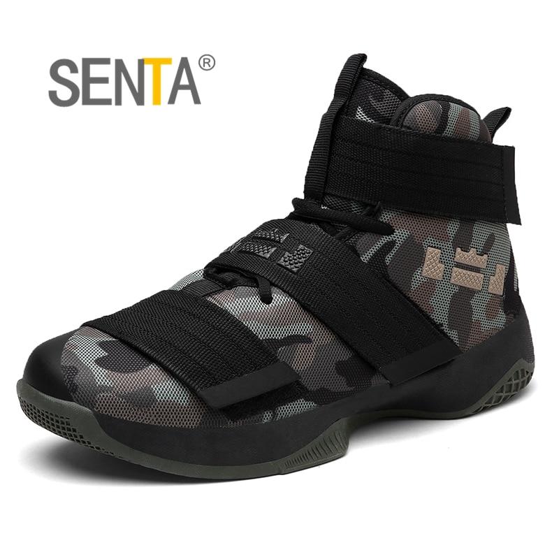 2a49b6b2bf12 Click here to Buy Now!! Профессиональная баскетбольная обувь Леброн Джеймс  высокие тренажерный зал сапоги ботильоны на открытом воздухе мужские  кроссовки ...