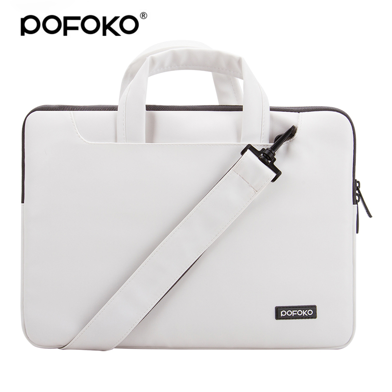 POFOKO Brand 13 Case for Macbook Air/ Pro Laptop Shoulder Bag Messenger Computer Sleeve 11 13.3 15.6 inch note laptop bag case pofoko protective nylon sleeve bag w zipper for macbook air pro 13 3 laptop blue