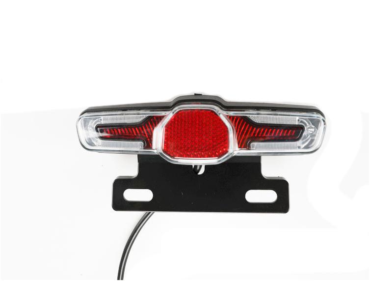Electric Scooter 36V 48V 60V LED Rear light Turn Signal Light Lamp Universal Voltage