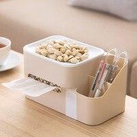 플라스틱 조직 상자 홈 커피 테이블 종이 트레이 창조적 인 거실 탁상 종이 냅킨