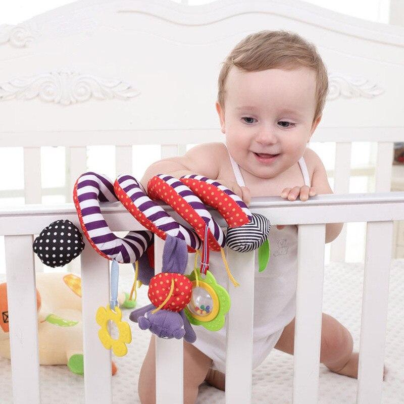 0-2 ans bébé hochets nouveau-né infantile jouets de dentition poussette lit de berceau autour de l'anneau cloche jouets vocaux pour enfants enfants cadeau d'anniversaire