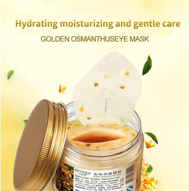 Bioaqua ouro osmanthus máscara de olho 80