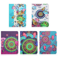 Conch Flower Pattern Universal 10 10 1 Inch Leather Case Cover Stand For ARCHOS 101 Neon
