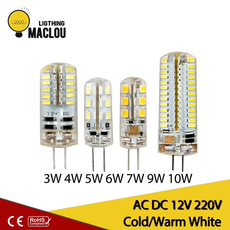 220V 12v G4 Bombillas LED Lights For Home Led G4  3w 4w 5w 6w 7w 9w 10w Lamparas Led Light Bulb Lighting Spotlight