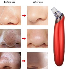 Powerful Beauty Machine Peeling Blackhead Facial Comedo Suction Wrink Vacuum Skin Clean Diamond Acne Face Pore Removal