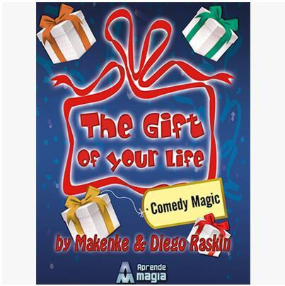 APRENDE M presents The Gift of Your Life ( Gimmick+online instruct) - Stage Magic Trick,Mentalism Magic,Close Up,illusion,Fun