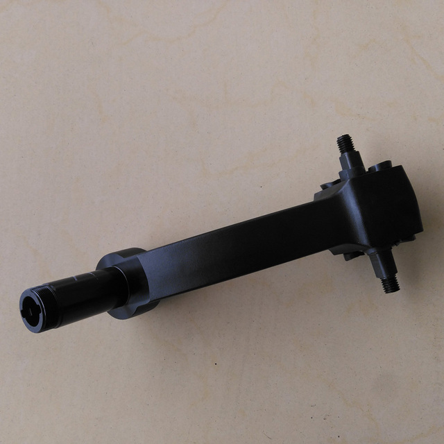 Front Shaft of Dualtron Electric Scooter with swim arm and rubber bar Front Suspension