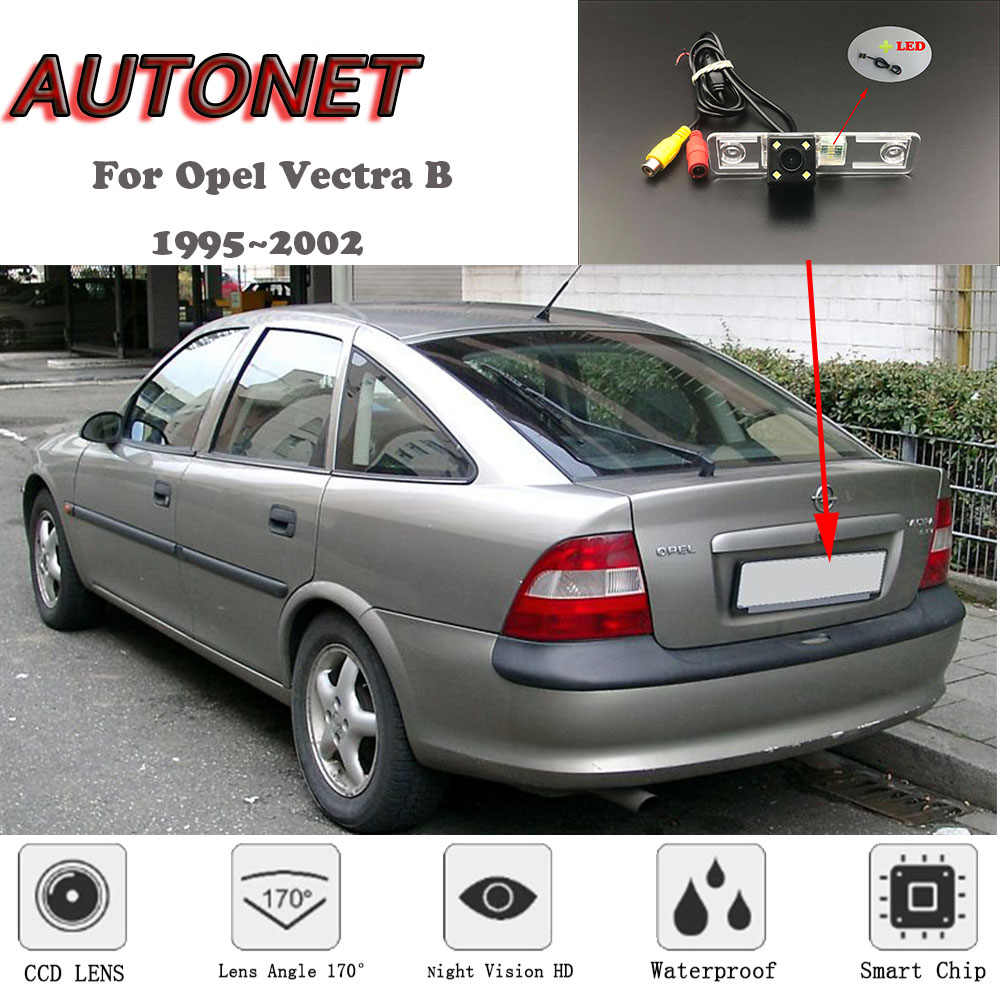 AUTONET HD ראיית לילה גיבוי מבט אחורי מצלמה עבור אופל Vectra B שברולט Vectra הולדן Vectra ווקסהול Vectra 1995 ~ 2002