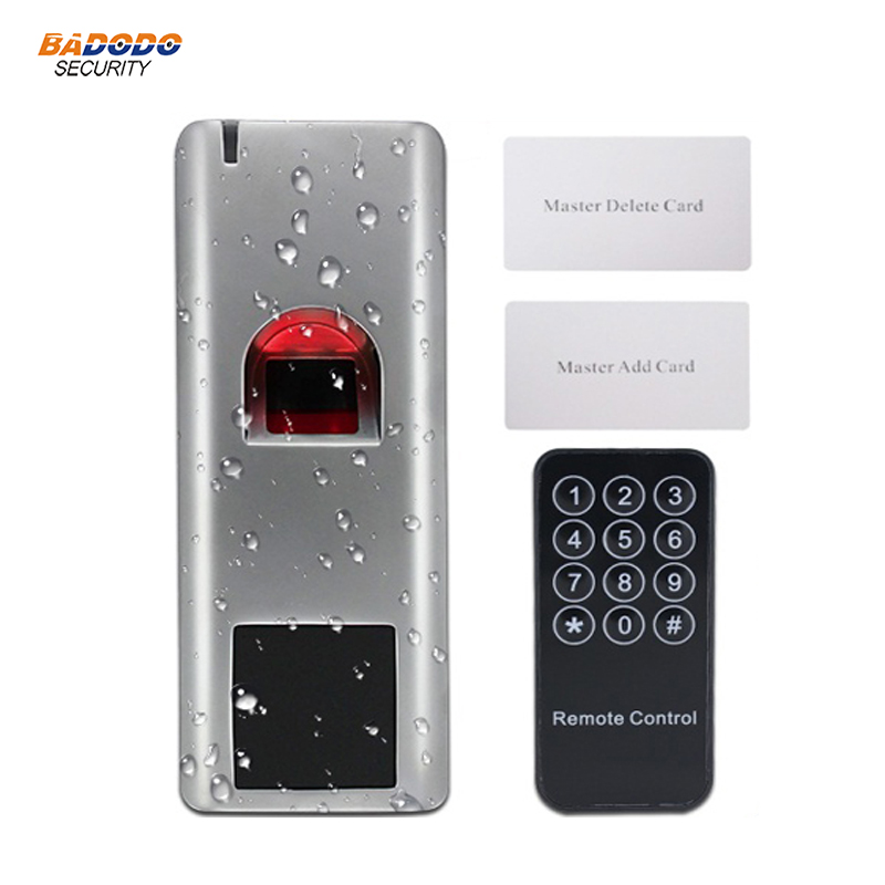 Access Control Access Control Kits Aspiring Metal Case Ip66 Waterproof 125khz Rfid Em Card Fingerprint Standalone Access Control Wiegand Output 3000 Users