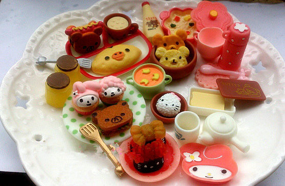 Dollhouse Miniature Ice Cups Model Kids Pretend Play Food Play House Toys SE