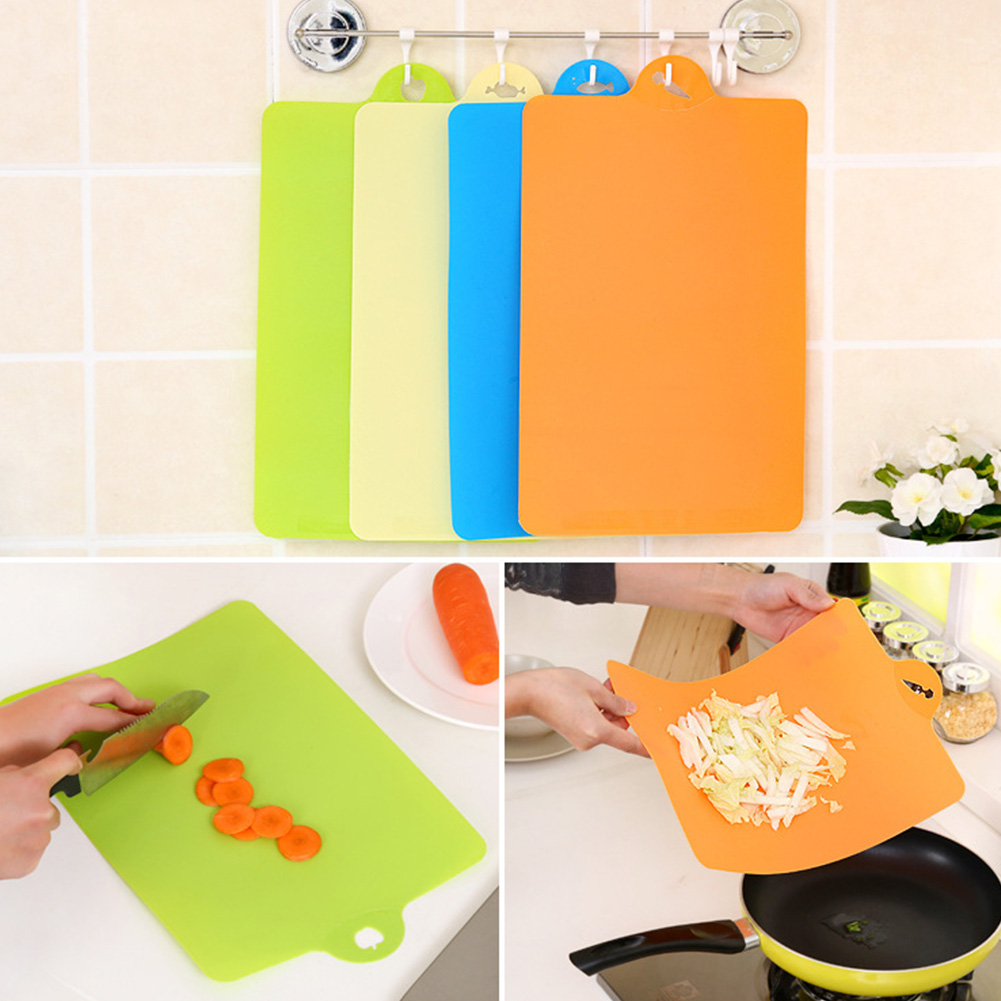 1 PCS 39*25cm Fruit Chopping Board Chopping Block Plastic Cutting Board Cutting Board Antibiotic Kitchen Utensils #0124