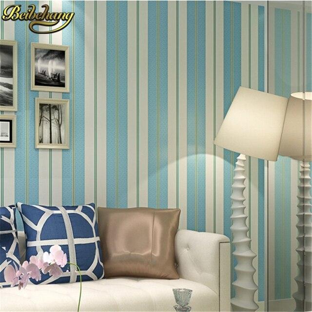 Aliexpresscom Buy beibehang Modern simple wide stripe wallpaper