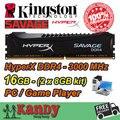 Kingston Hyperx SAVAGE jogador do jogo desktop memória RAM DDR4 16 GB 3000 MHz não ECC 288 pino DIMM memoria computador computador