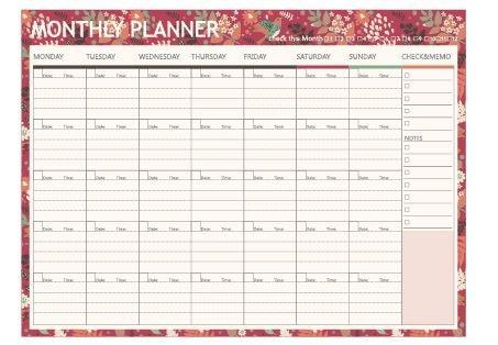 Aliexpress.com : Buy plan work desktop plan notepad boxing ...
