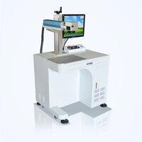 High Speed Metal 50W Fiber Laser Marking Machine Laser Engraving