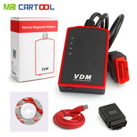 Wifi UCANDAS VDM V3.9 Auto Diagnostic Scanner OBD2 supports auto Full Systems for WindowsPC Android Phone