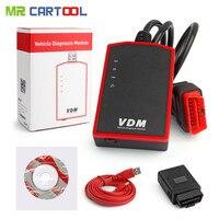 Wifi ucandas VDM V3.9 автомобильный диагностический сканер OBD2 авто полные системы ECU DTC сигнализация сброс ключа программирования Бесплатная обновл