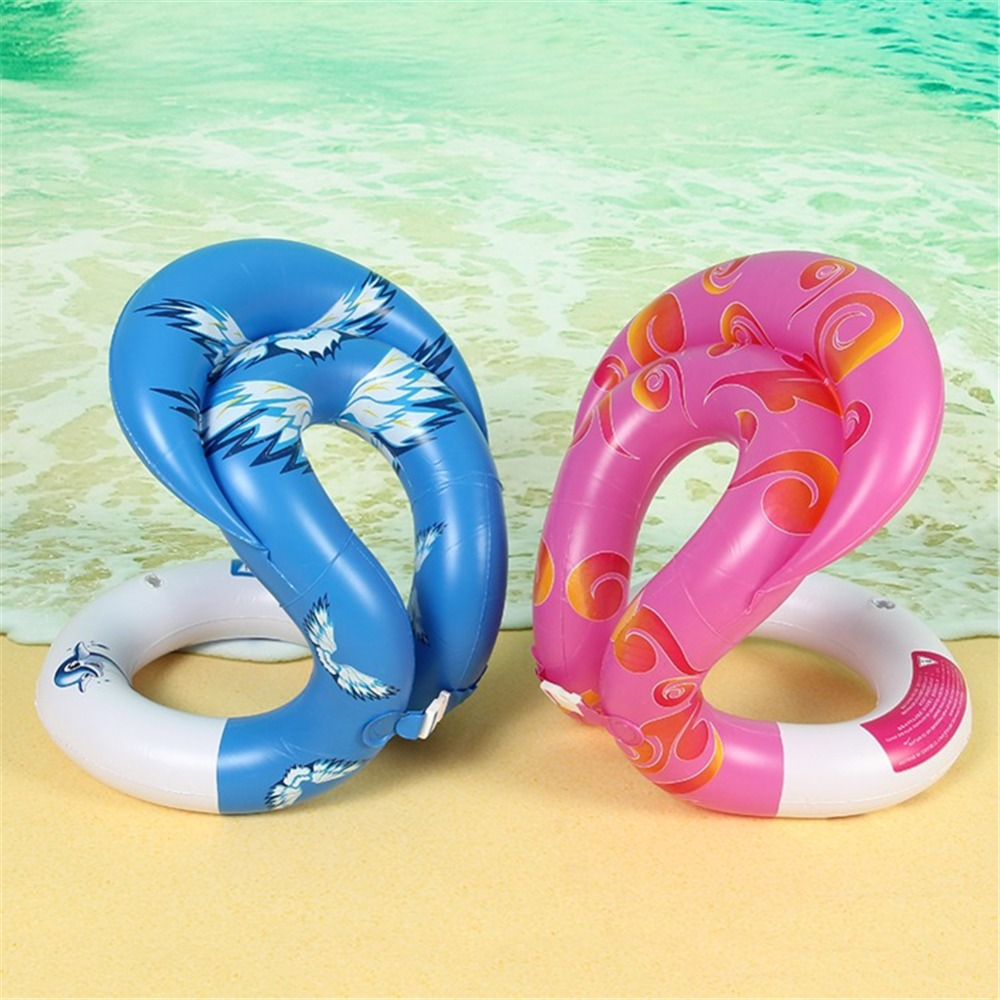 Inflatable Swim Arm Ring Swimming Pool Toy Child Adult Water Toy Swim Ring Floating Child Child Adult Life vest 0.34 mm
