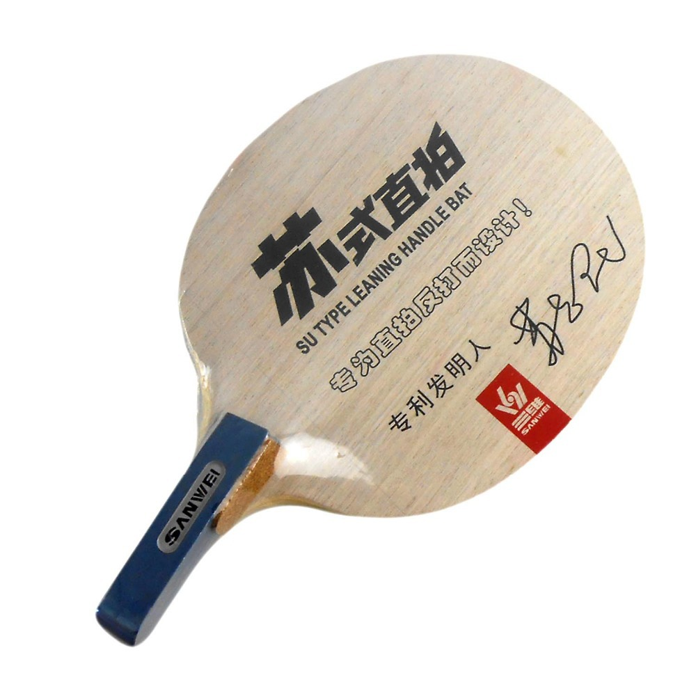 ФОТО Sanwei A9 (A 9 A-9) Su Type Penhold Table Tennis PingPong Blade for left hand 2015 Genuine The new listing Favourite