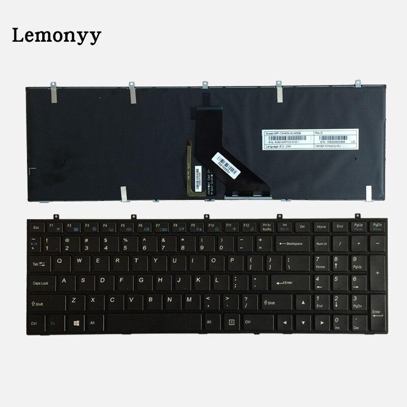 US laptop Keyboard for DNS Clevo W650SRH W650 W655 W650SR W650SC R650SJ W6500 W650SJ W655SF w655sc
