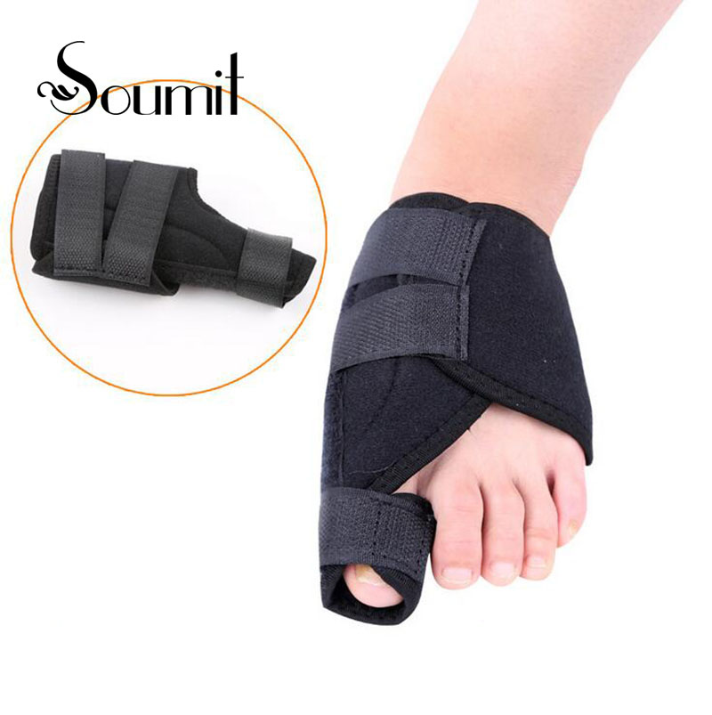 Soumit Fabric Bunion Device Hallux Valgus orthopedic Braces Toes Correction Foot Corrector Pads Thumb Big Bone Orthotics Insoles 1pair free size toe straightener big toe spreader correction of hallux valgus pro toe corrector orthopedic foot pain relief