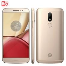 """Desbloqueado Motorola Moto M XT1662 teléfono Móvil 4 GB + 32 GB Octa Core 4G LTE Dual SIM 5.5 """"Huella Digital de 16.0MP Smartphone 3050 mAh"""