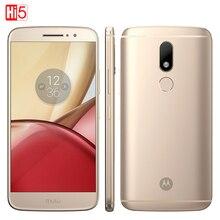 Unlocked Motorola Moto M XT1662 Mobile phone 4GB+32GB Octa Core 4G LTE Dual SIM 5.5'' 16.0MP Fingerprint Smartphone 3050mAh