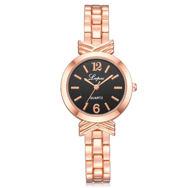 Women's Women Watch Luxury Clock Women Lady Delicate Bracelet Stainless Steel Cr
