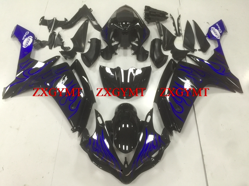 Fairings for YZFR1 2007 - 2008 Fairing YZF R1 2008 Black Blue Frame Fairing Kits YZF1000 R1 08Fairings for YZFR1 2007 - 2008 Fairing YZF R1 2008 Black Blue Frame Fairing Kits YZF1000 R1 08