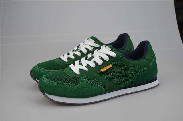 b923e0e4d65 Original KINETIX Male vintage light running shoes genuine leather suede the  trend of shoes preppy style