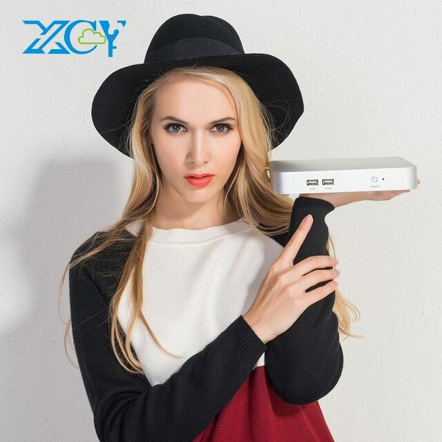 XCY X26 Мини ПК Intel Core i7 7500U i5 7200U i3 7100U Windows 10 Linux в формате 4 K UHD HDMI HTPC VGA 300 м Wi-Fi Gigabit Ethernet 6 * USB 5